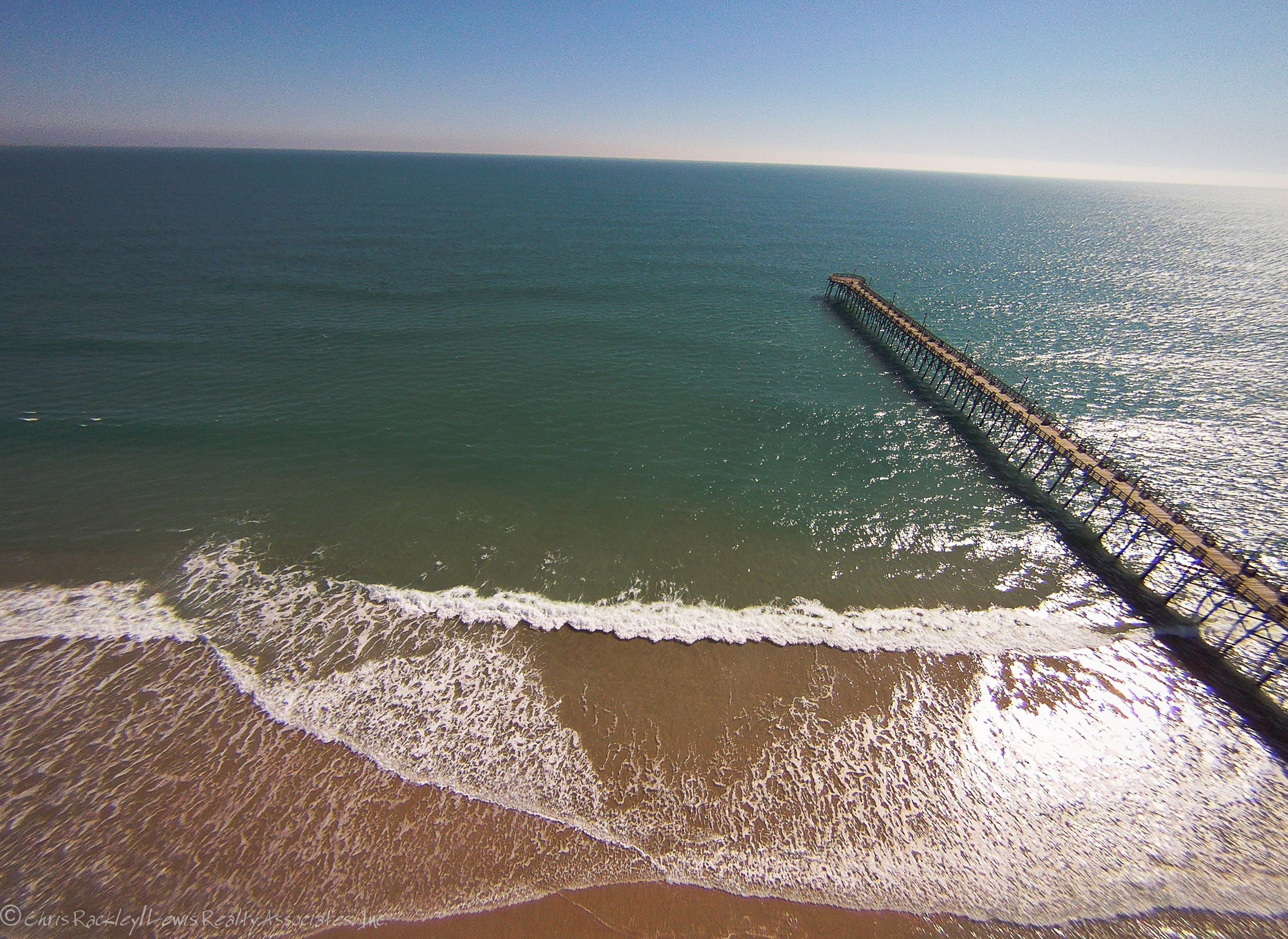 Topsail island aerial photos topsail island blog for Surf city fishing pier